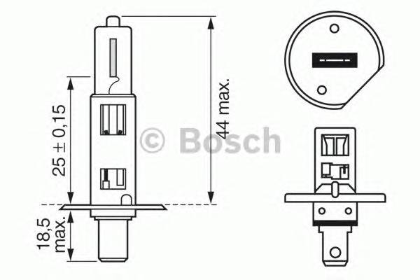 BULB,HEADLAMP BOSCH 1987302011
