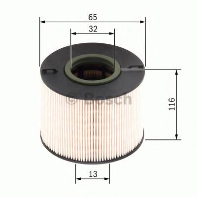 Топливные фильтры Топливный фильтр диз BOSCH арт. 1457431261