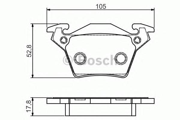 Тормозные колодки Тормозные колодки дисковые задние DB Vito 95- ; V-seria 96- PAGID арт. 0986495074