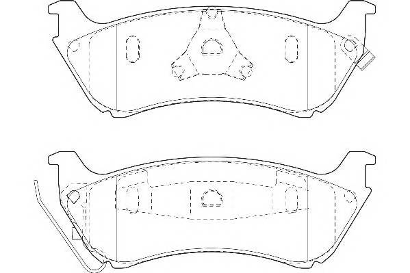 Тормозные колодки Тормозные колодки Wagner PAGID арт. WBP23189A