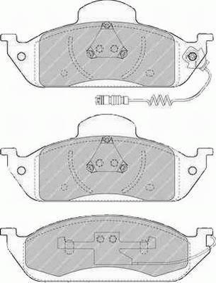 Тормозные колодки Тормозные колодки Ferodo PAGID арт. FDB1400