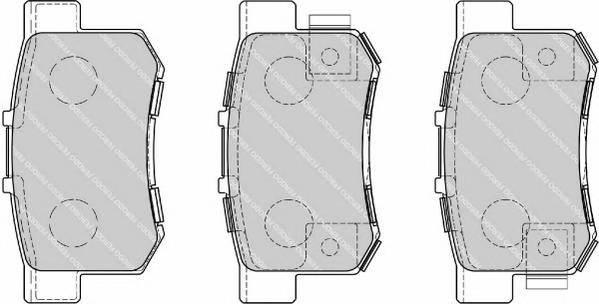 Тормозные колодки Тормозные колодки дисковые PAGID арт. FDB1679