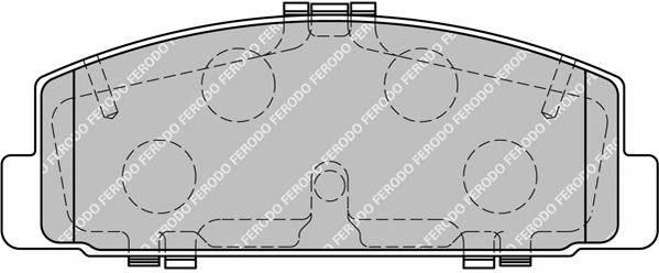 Гальмівні колодки, дискові PAGID арт. FDB1721
