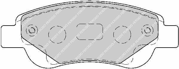 Тормозные колодки Тормозные колодки Ferodo ABE арт. FDB1790