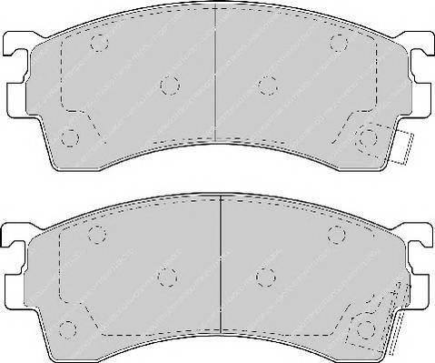 Гальмівні колодки, дискові PAGID арт. FDB950