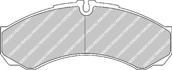 Тормозные колодки Тормозные колодки Ferodo ABE арт. FVR1315