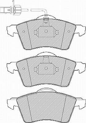 Тормозные колодки Тормозные колодки Ferodo PAGID арт. FVR1518