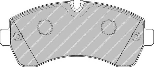 Гальмівні колодки, дискові ABE арт. FVR1777