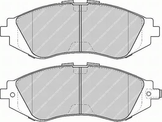 Тормозные колодки Тормозные колодки передние Lanos R14 Ferodo PAGID арт. FSL1116