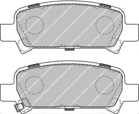 Тормозные колодки Тормозные колодки Ferodo PAGID арт. FSL1333