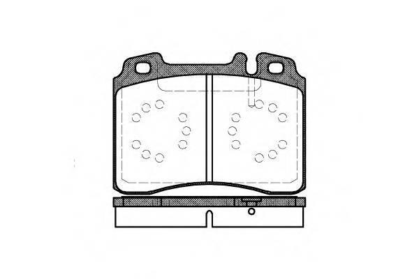 Тормозная система Гальмiвнi колодки, к-кт. PAGID арт. 237900