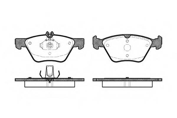 Тормозная система Гальмiвнi колодки, к-кт. PAGID арт. 260100