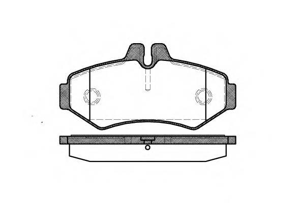 Тормозная система Гальмiвнi колодки, к-кт. PAGID арт. 273300
