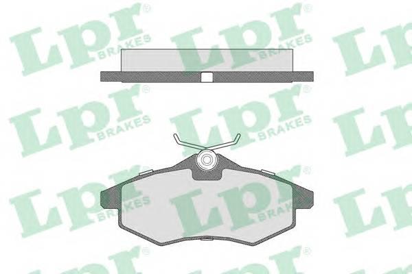 Тормозные колодки Тормозные колодки ABE арт. 05P805