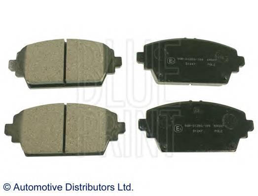 Тормозные колодки Тормозные колодки ADH24256 PAGID арт. ADN142105