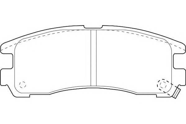 Тормозные колодки Тормозные колодки Wagner PAGID арт. WBP21706A