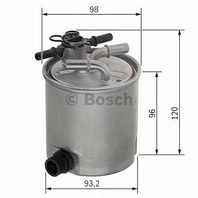 Топливные фильтры Топливный фильтр BOSCH арт. F026402019