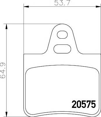Тормозные колодки Тормозные колодки дисковые TEXTAR арт. 2057511