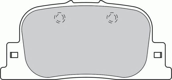 Тормозные колодки Тормозные колодки дисковые PAGID арт. FDB1686