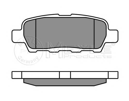 Тормозные колодки Тормозные колодки дисковые PAGID арт. 0252387114W