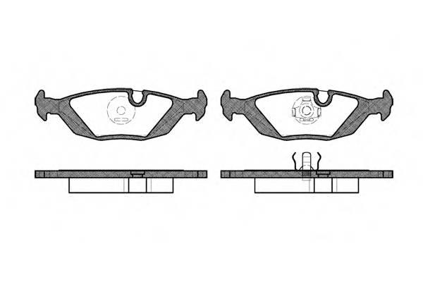 Тормозная система Гальмiвнi колодки, к-кт. PAGID арт. 215500