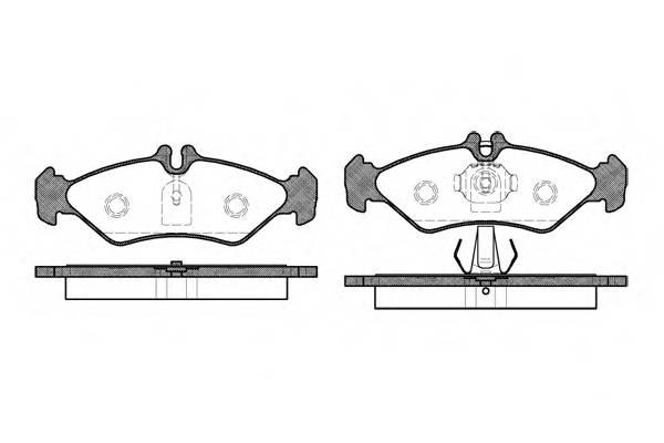 Тормозная система Гальмiвнi колодки, к-кт. PAGID арт. 257900