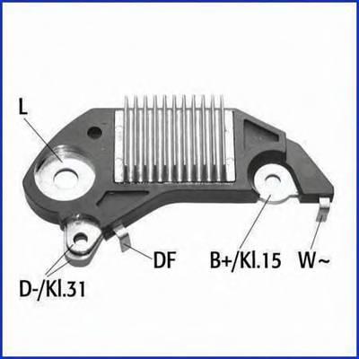 Регулятор генератора OPEL Astra G/Vectra C HUCO 130020