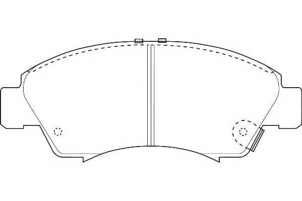 Тормозные колодки Тормозные колодки Wagner PAGID арт. WBP21697A