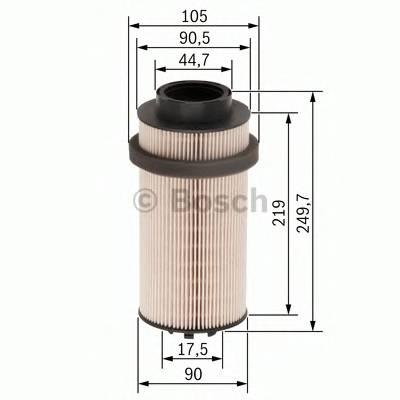 Топливные фильтры Топливный фильтр BOSCH арт. F026402031