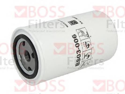 Масляные фильтры Фільтр масляний BOSSFILTERS арт. BS03006