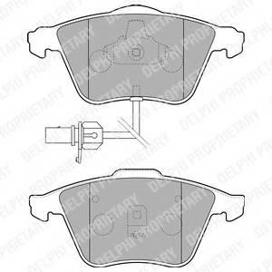 Гальмівні колодки, дискові ABE арт. LP1825