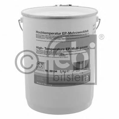 Смазка высокотемпературная FEBI (зелёная) универсальная 5 кг. (28194) FEBIBILSTEIN 28194
