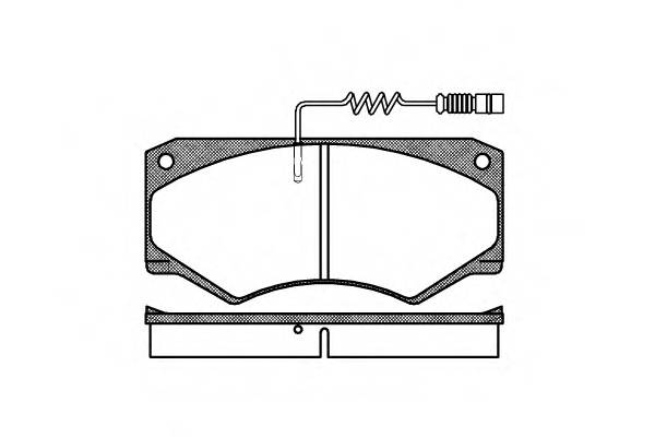 Тормозная система Гальмiвнi колодки, к-кт. PAGID арт. 204714