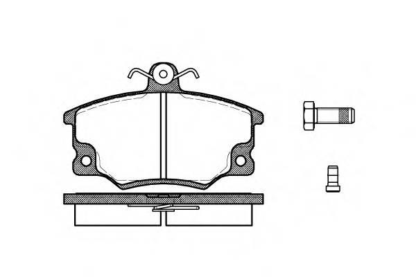 Тормозная система Гальмiвнi колодки, к-кт. PAGID арт. 214614
