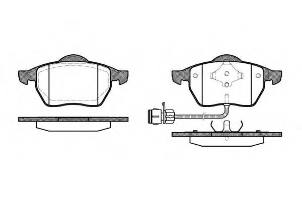 Тормозная система Гальмiвнi колодки, к-кт. PAGID арт. 239002