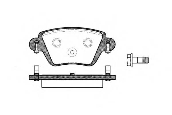 Тормозная система Гальмiвнi колодки, к-кт. PAGID арт. 277710
