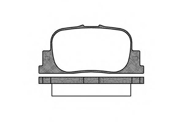 Тормозная система Гальмiвнi колодки, к-кт. PAGID арт. 280100