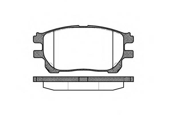 Тормозная система Гальмiвнi колодки, к-кт. PAGID арт. 2114300