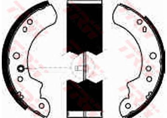 Тормозные колодки Тормозные колодки барабанные PAGID арт. GS6222
