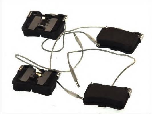 Гальмівні колодки, дискові ABE арт. C1P013ABE
