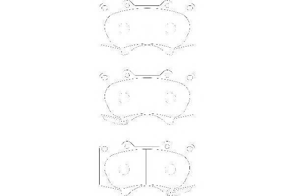 Тормозные колодки Тормозные колодки Wagner PAGID арт. WBP24024A