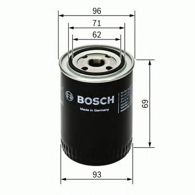 Масляные фильтры Фільтр масляний BOSCH арт. 0451103274