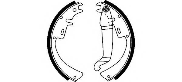 Тормозные колодки Тормозные колодки барабанные PAGID арт. 91012100