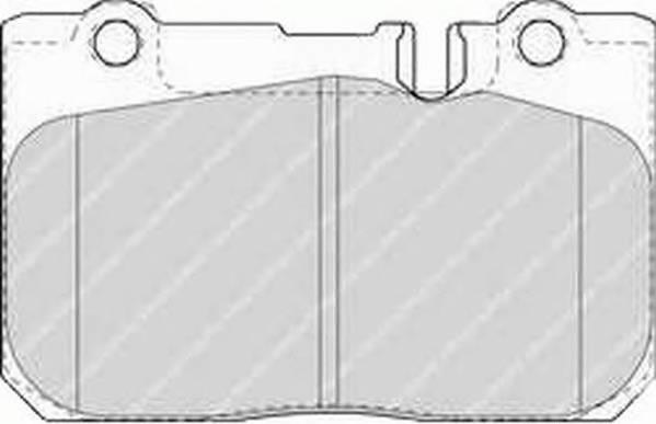 Тормозные колодки Тормозные колодки Ferodo ABE арт. FDB1554