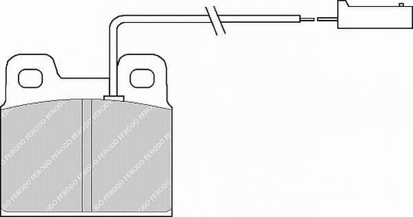 Тормозные колодки Тормозные колодки дисковые PAGID арт. FDB728