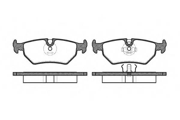 Тормозная система Гальмiвнi колодки, к-кт. PAGID арт. 226510