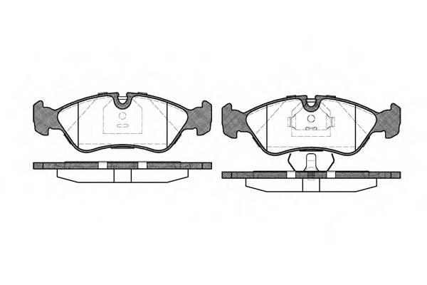 Тормозная система Гальмiвнi колодки, к-кт. PAGID арт. 228630
