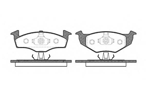 Тормозная система Гальмiвнi колодки, к-кт. PAGID арт. 260920