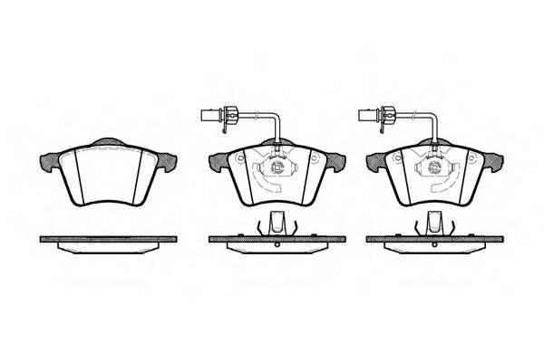 Тормозная система Гальмiвнi колодки, к-кт. PAGID арт. 272102