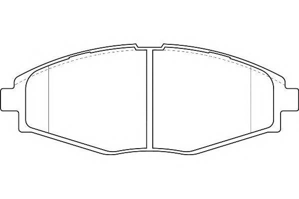 Тормозные колодки Тормозные колодки Lanos R13Wagner WAGNER арт. WBP23241A